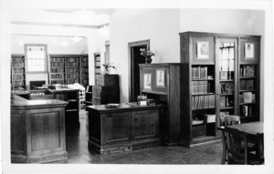 North Branch Library, interior view