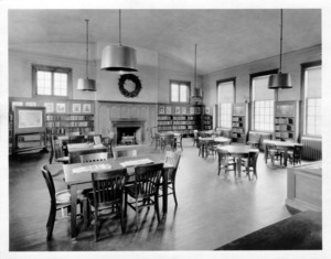 Children's area. Watertown Free Public Library - East Branch Library, circa 1928.