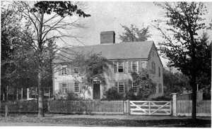 Old Parsonage on Mount Auburn Street.