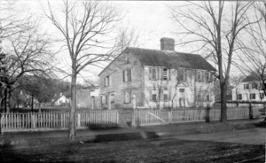 First Parish Parsonage on Mount Auburn Street .