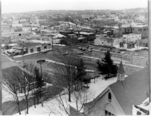 Aerial view of Watertown, Massachusetts