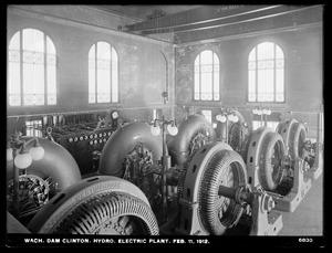 Wachusett Dam, Hydroelectric Power Plant, Clinton, Mass., Feb. 11, 1912