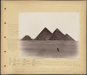 Tupper Scrapbook Collection: Scrapbooks of mounted views, portraits, etc., relating to Europe and Egypt, 1891-1894