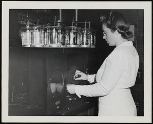 Chief technician at the Faulkner Hospital laboratory