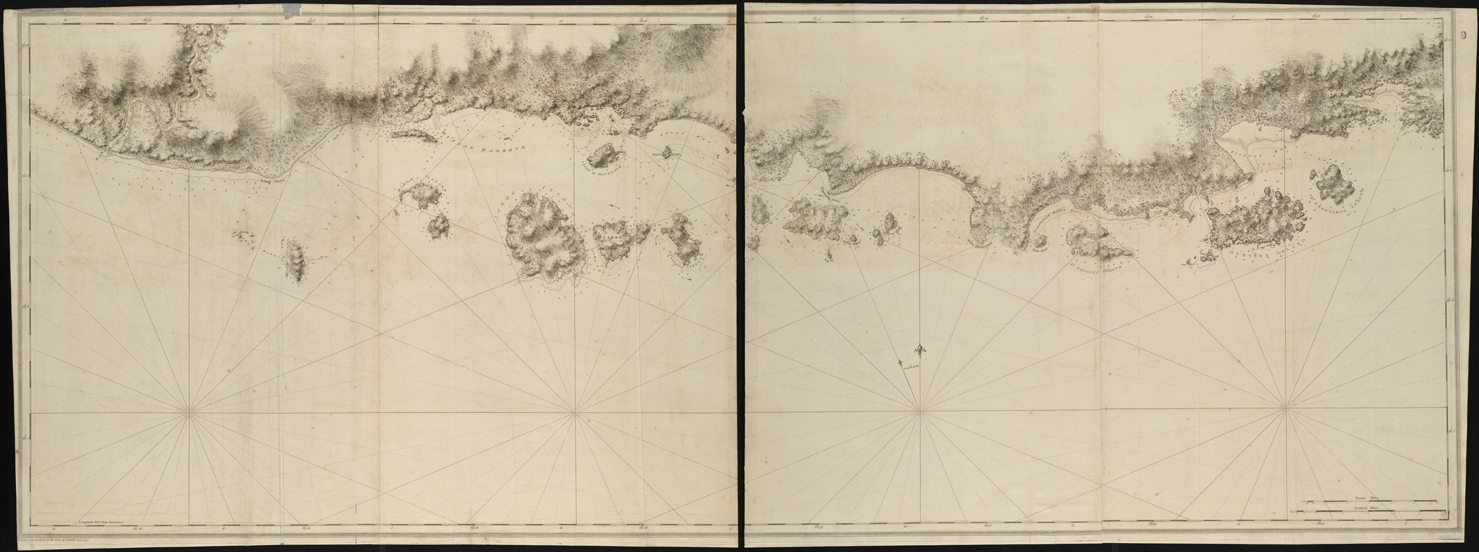 [Chart of the coast of Quebec from the Riviere St. Jean to Grand Hermine Bay]