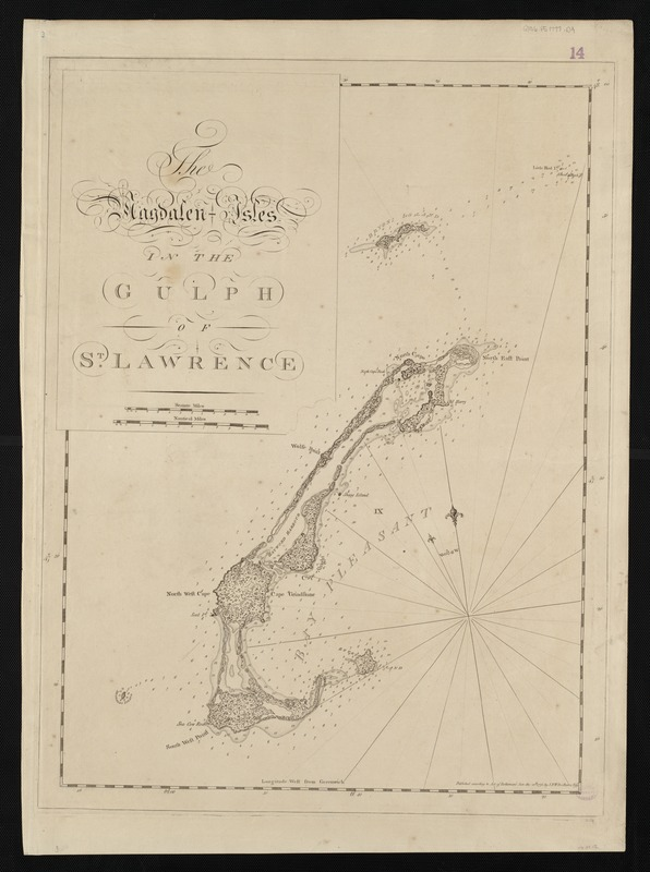 The Magdalen Isles in the Gulph of St. Lawrence
