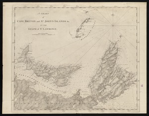 A chart of Cape Breton and St. John's Islands &c. in the gulph of St. Lawrence