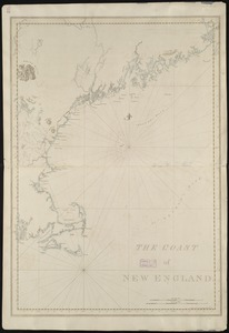The coast of New England
