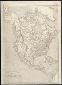 Illustrated Times map of North America