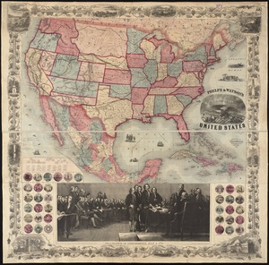 Phelps & Watson's new map of the United States