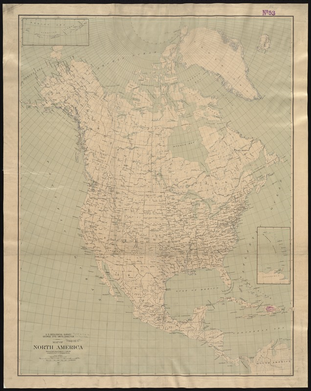 Map of North America - Digital Commonwealth