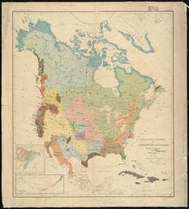 Linguistic families of American Indians north of Mexico