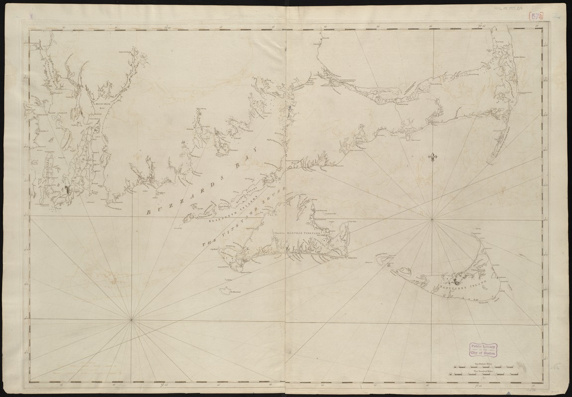 [Coast of New England from Chatham Harbor to Naragansett Bay]