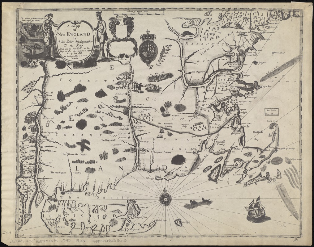 A mapp of New England