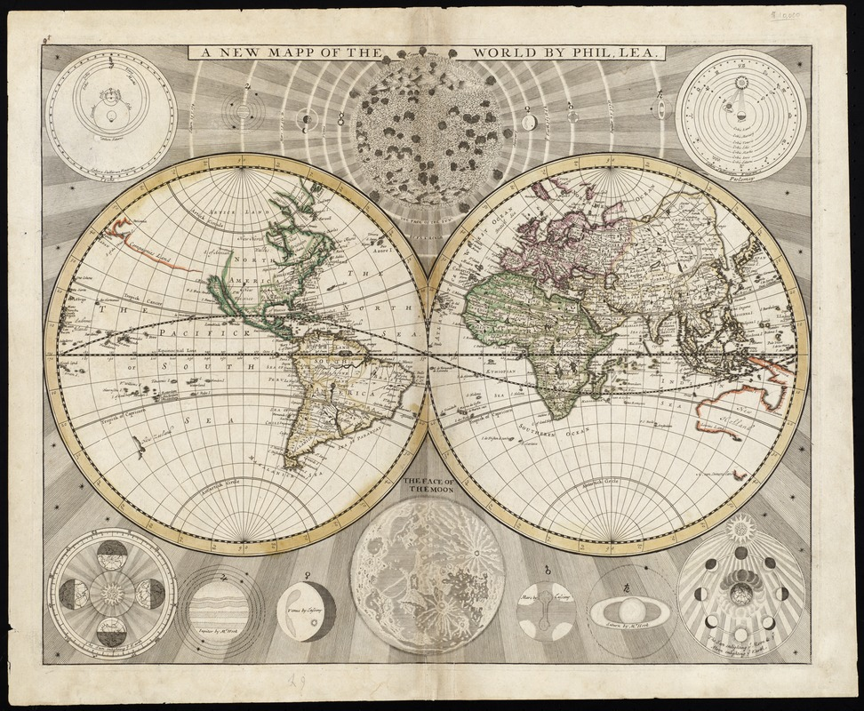 A new mapp of the world