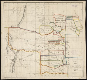 Map of the Western Territory &c