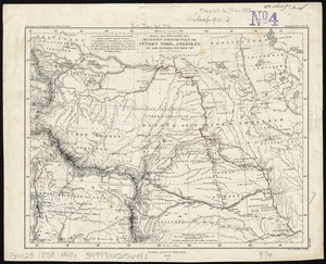 Northwestern States Map.Topic Northwestern States Maps Digital Commonwealth Search Results
