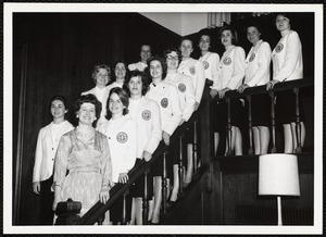 Student clubs - Glee 1949, Keynotes 1963 & Women of Culture 1998