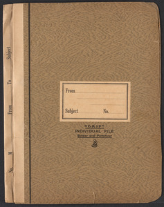 Sacco-Vanzetti Case Records, 1920-1928. Defense Papers. Defendant's Brief, n.d. Box 7, Folder 25, Harvard Law School Library, Historical & Special Collections