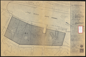 Disposition parcels, Charlestown urban renewal area, Massachusetts R-55