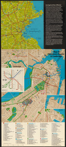 Boston city map & guide to the Freedom Trail & national historical park