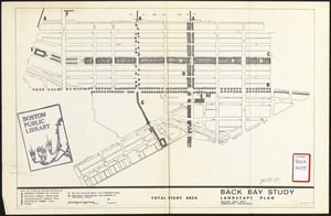 Back Bay study landscape plan