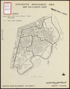 Dorchester improvement area, map no. 2 - south east