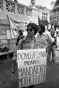 Anti Doyle/Flynn bill pro-abortion rally, Tremont Street, Boston