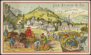 Jos. Stiner & Co. tea importers, New York