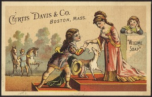 Welcome Soap - Curtis, David & Co, Boston, Mass.