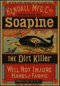 Soapine the dirt killer will not injure hands and fabric - be sure every package you buy is like this