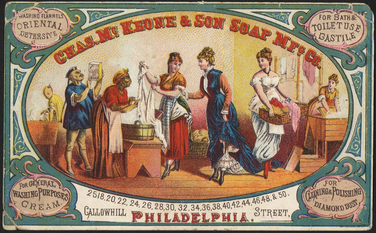Chas. McKeone & Son Soap Mfg. Co. McKeone's Snow Soap, Coupon Bar