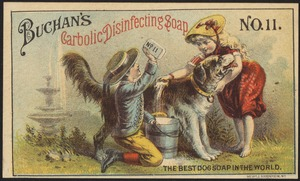 Buchan's Carbolic disinfecting soap No. 11 - the best dog soap in the world.