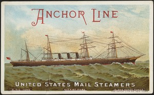 Anchor Line, United States mail steamers