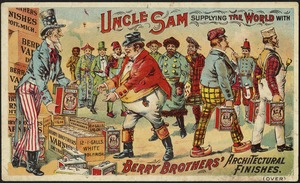 Uncle Sam supplying the world with Berry Brothers' architectural finishes.