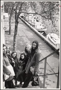 Polly Carter, Molly Paget, Sarah Smith, Judy Quinn, Janet Steinmeyer in France