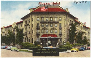 Alcazar Hotel, Surrey & Derbyshire Roads, Cleveland Heights 6, Ohio