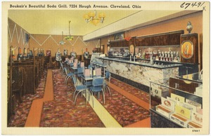 Boukair's beautiful soda grill, 7224 Hough Avenue, Cleveland, Ohio
