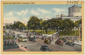 Broad and High Street, Columbus, Ohio