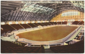 Coliseum, Ohio state fair grounds. Columbus, Ohio