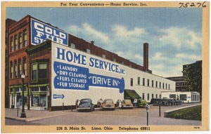 For your convenience -- Home Services, Inc., 236 S. Main St., Loma, Ohio, Telephone 49911