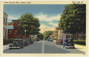 West Lincoln Way, Lisbon, Ohio