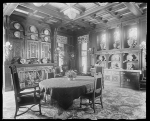 Anson Phelps Stokes, 229 Madison Ave NYC: dining-room