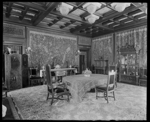 Anson Phelps Stokes, 229 Madison Ave NYC: dining room