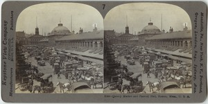 Quincy Market and Faneuil Hall, Boston, Mass., U.S.A.
