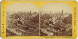 Panorama from C.F. Hovey & Co. Summer St.