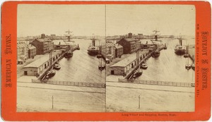 Long Wharf and shipping, Boston, Mass.