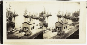 India Wharf and dock, Boston