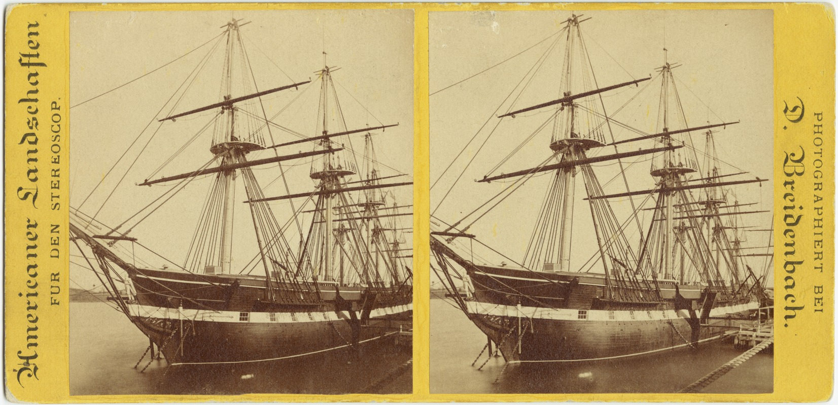 """U.S. Ship Constitution. """"Old Ironsides"""""""
