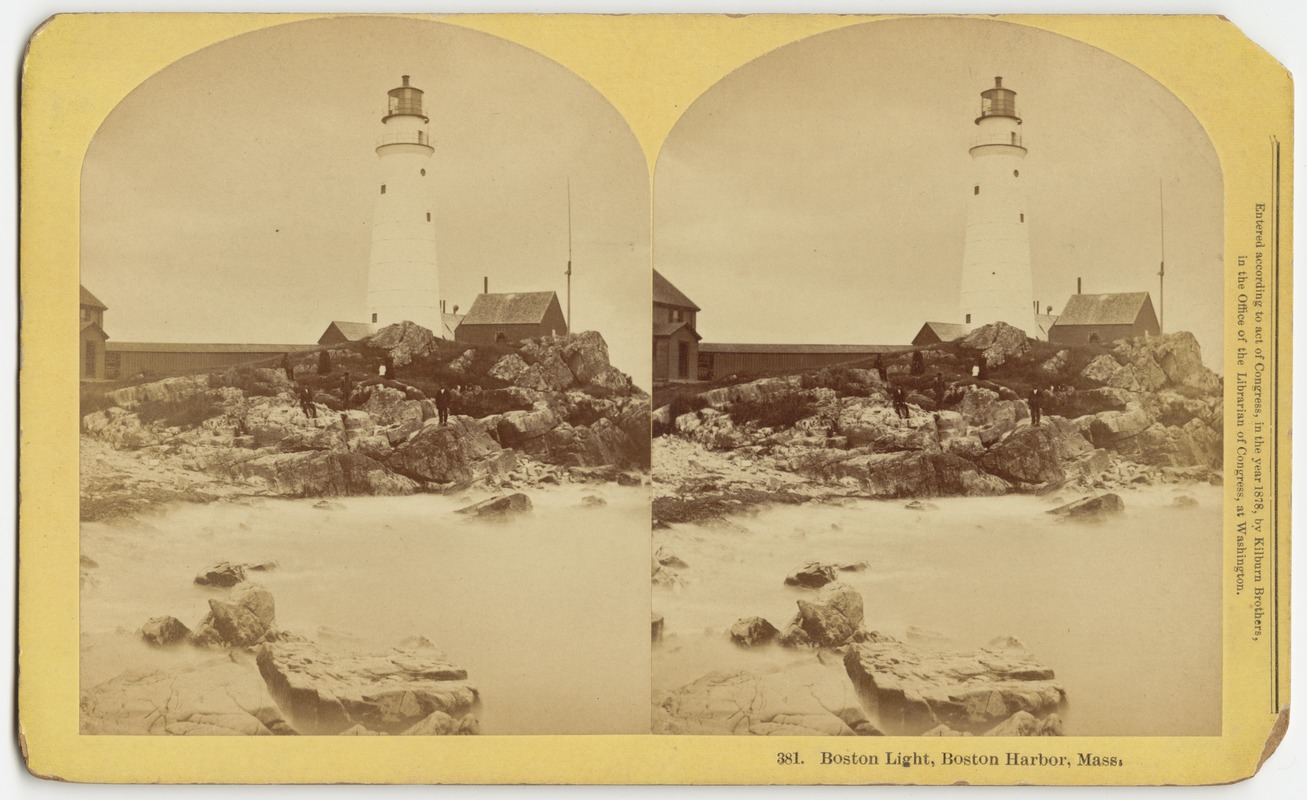 Boston Light, Boston Harbor, Mass.